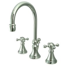 Madison Widespread Bathroom Faucet with Double Cross Handles