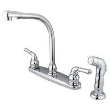 Magellan Double Handle Centerset Kitchen Faucet