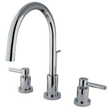 Concord Double Handle Single Hole Widespread Bathroom Faucet