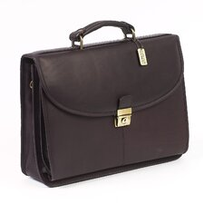 Lawyer's Leather Laptop Briefcase