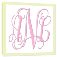 Monograms Canvas Art