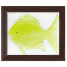 Sea Creatures Flicka the Fish Framed Art