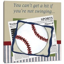 Sports Baseball in the News Canvas Art