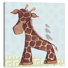 Jungle Jackson Giraffe Canvas Art