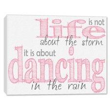Dance in the Rain Framed Art