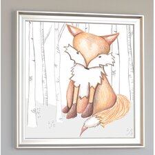 Forest Flynn Fox Framed Art