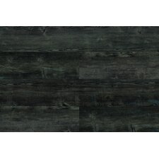 "7"" x 46"" x 9.5mm Luxury Vinyl Plank in Graphite"