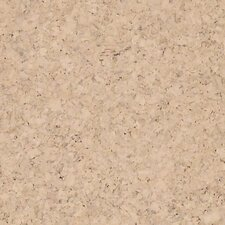 "12"" Engineered Cork Hardwood Flooring in Apollo Crème"