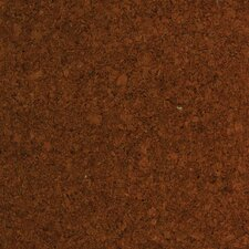 "12"" Engineered Cork Hardwood Flooring in Apollo Brown"