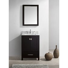 "Caroline Avenue 25"" Single Bathroom Vanity Set with Mirror"