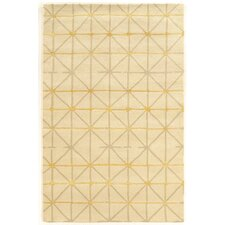 Aspire Pane Hand-Tufted Ivory/Gray Area Rug