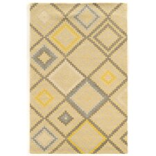 Aspire Stitch Hand-Tufted Natural/Gray Area Rug