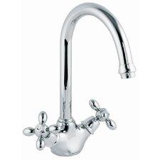 Double Handle Single Hole Kitchen Sink Faucet