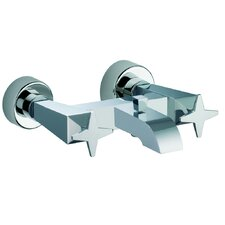 Mp1 Double Handle Wall Mount Tub Only Faucet Trim Cross Handle