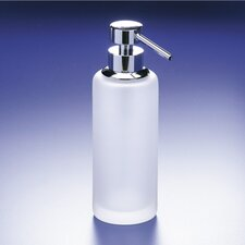 Accessories Frozen Glass Soap Dispenser