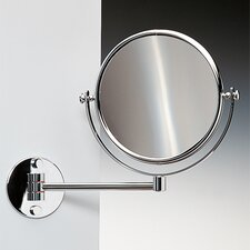 Double Face Wall Mounted 3X Magnifying Mirror