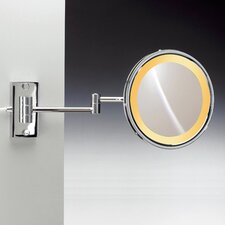 Incandescent Light 3X Magnifying Mirror with Two Arms