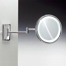 Fluorescent Light Extendable 3X Magnifying Mirror
