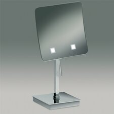 Free Standing 3x Magnifying LED Mirror with Switch