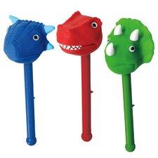 Dino 3 Piece Puppet-On-A-Stick