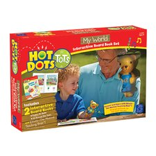 Hot Dots Tots My World Interactive Board Book Set With Elliott Pen