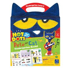 Hot Dots Jr Pete Cat Kindergarten Rocks
