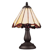 """Mix And Match Section 13"""" H Table Lamp with Empire Shade"""