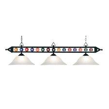Designer Classics 3 Light Billiard Light