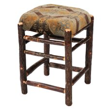 "Hickory 24"" Bar Stool with Cushion"