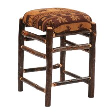"Hickory 30"" Bar Stool with Cushion"