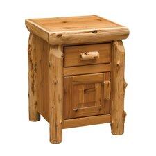 Cedar 1 Drawer Nightstand