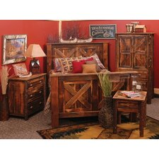 Reclaimed Barnwood Panel Customizable Bedroom Set
