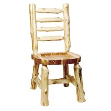 Traditional Cedar Log Side Chair (Set of 2)