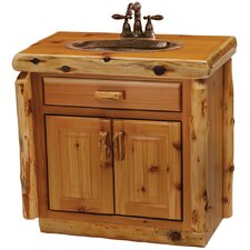 "Cedar 30"" Single Bathroom Vanity Set"