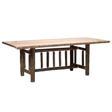 Hickory Rectangle Dining Table