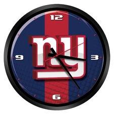 "NFL New York Giants 15"" Glass Clock"