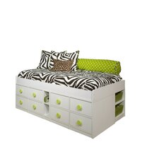 Jr Captain's Bed with Storage