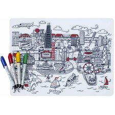 Mark-Mat Chicago Placemat