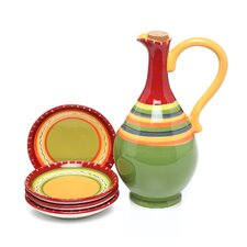Hot Tamale 5 Piece Olive Oil Dipping Set