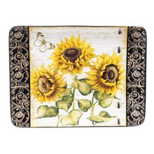 French Sunflowers Platter