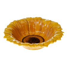 French Sunflowers 3-D Sunflower Serving Bowl