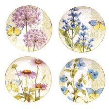 Herb Garden Dinner Plates (Set of 4)