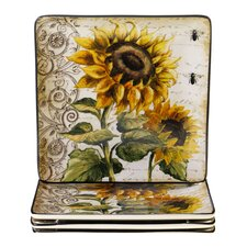 French Sunflowers Dinnerware Collection