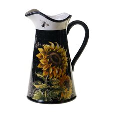 French Sunflowers Pitcher