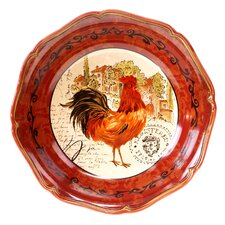Tuscan Rooster Serving Bowl