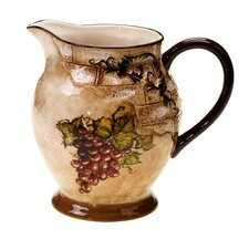 Tuscan View Pitcher