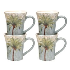 Key West 14 Oz. Mug (Set of 4)
