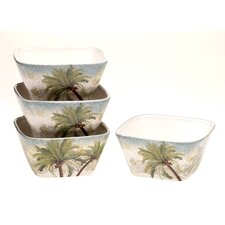 Key West Ice Cream Bowl (Set of 4)