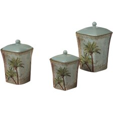 Key West 3-Piece Canister Set