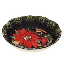 Botanical Christmas Serving/Pasta Bowl
